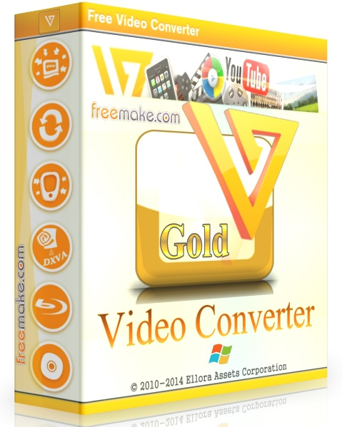 Freemake Video Converter Gold 4.1.10.173 + ключ  [На русском]