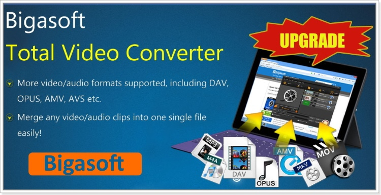 Bigasoft Total Video Converter 6.0.4.6443 + keygen [На русском]