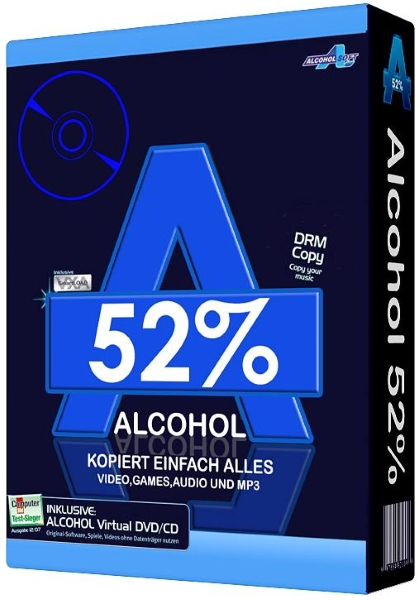 Alcohol 52% 2.0.3 Build 10221 Free Edition Final [На русском]