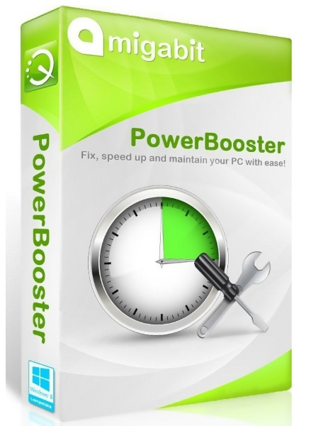 Amigabit PowerBooster 4.2.0 + ключ (2016) ENG