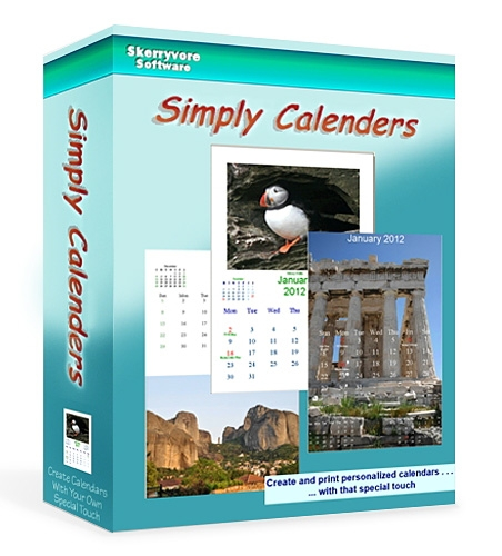 Skerryvore Software Simply Calenders 5.4.1451 Portable [На русском]