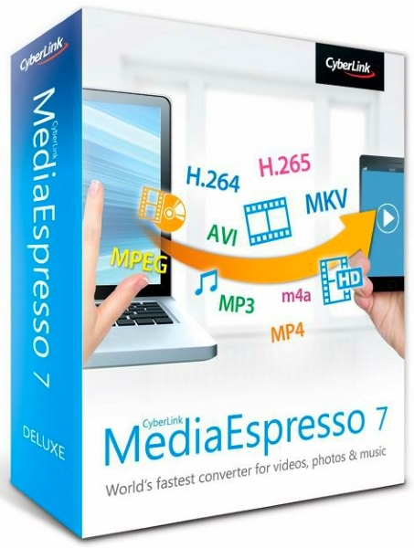 CyberLink MediaEspresso Deluxe 7.5.8022.61105 + keygen [Русские/Английские версии]