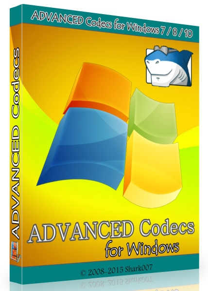ADVANCED Codecs for Windows 10 / 8.1 / 7 - 10.8.6 (2018) [На русском]