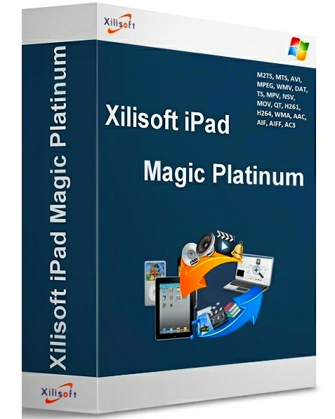 Xilisoft iPod Magic Platinum 5.6.8.20141112 Portable (для копирования файлов с iPod на компьютер)
