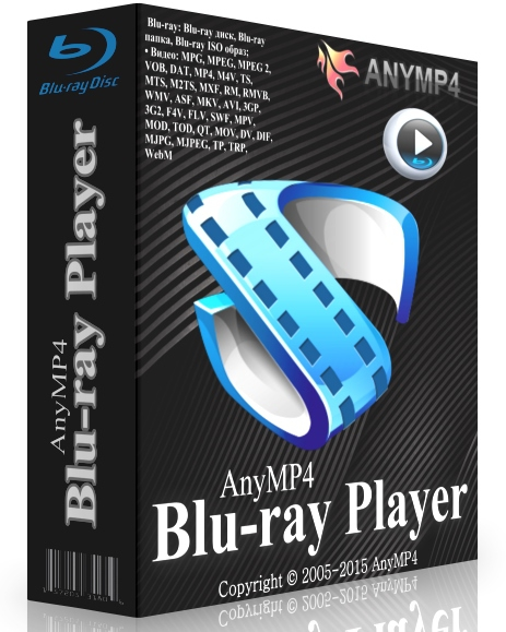 AnyMP4 Blu-ray Player 6.2.22 + cracked [Русификатор]