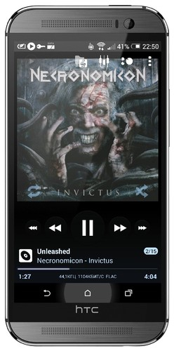 Poweramp Music Player (Full) v2.0.10-build-571 [Русская версия]
