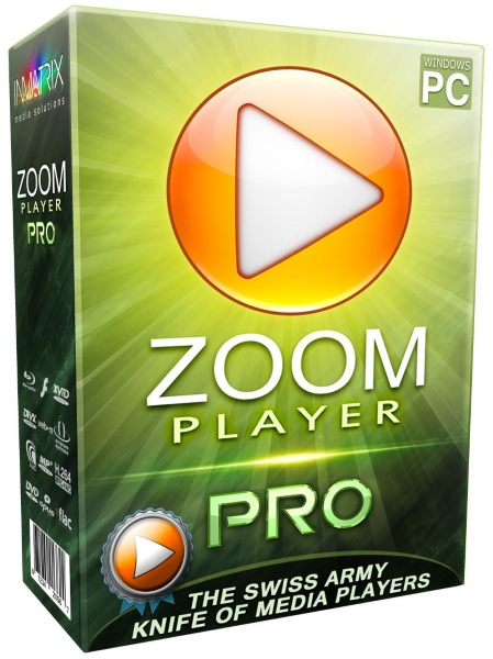 Zoom Player MAX 12.5.0.1250 Final + ключ [Русификатор]