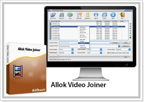 Allok Video Joiner 4.6.1217 Portable [На русском]