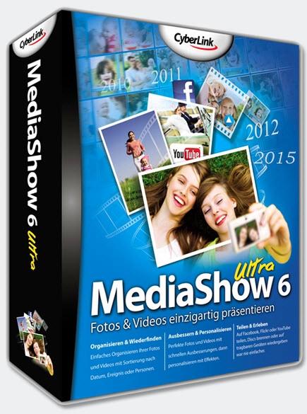 CyberLink MediaShow Ultra 6.0.11304 + ключ [Русификатор]