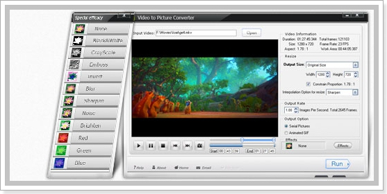 Video to Picture Converter 5.1 Portable (универсальный видео конвертер)