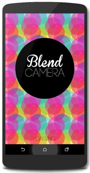 Blend Photos Camera 1.1 - фотокамера и графический редактор для android