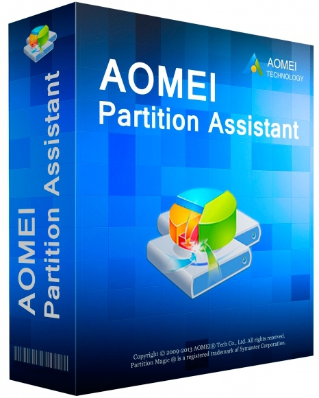 AOMEI Partition Assistant Professional / Technician / Server / Unlimited Edition 8.3 + keygen [На русском]