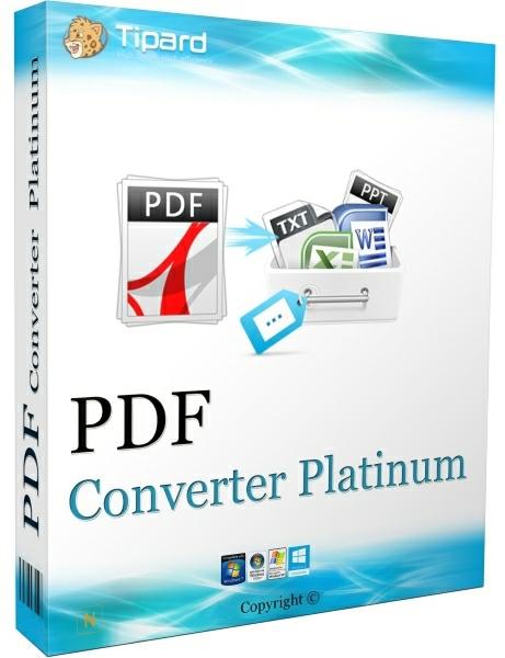 Tipard PDF Converter Platinum 3.3.12 + patch [На русском]