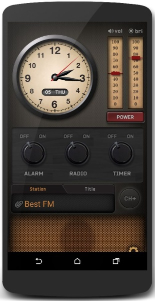 RadiON 3.1.8 - интернет-радио для android