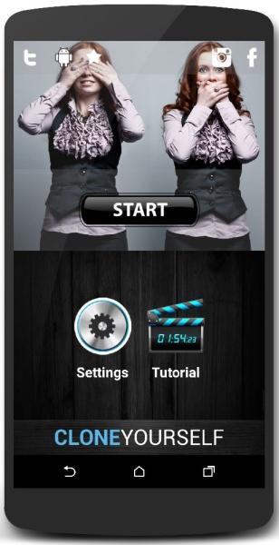 Clone Yourself Camera Pro 1.3.8 - фотокамера для Андроид