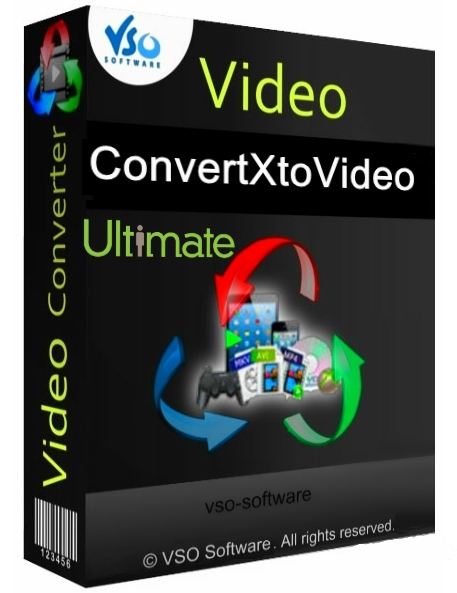 VSO ConvertXtoVideo Ultimate 2.0.0.88 Final + patch [На русском]