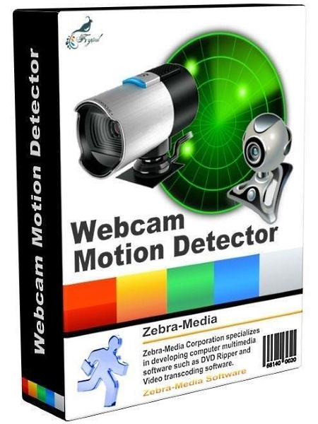 Zebra Webcam Motion Detector 2.4 + ключ (2017) ENG