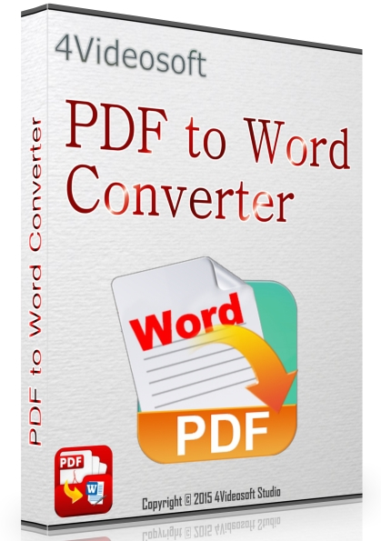 4Videosoft PDF to Word Converter 3.2.10 + cracked [Русификатор]