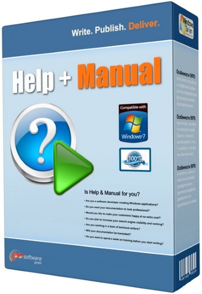 Help & Manual Professional 7.3.5 Build 4430 + keygen (2018) ENG