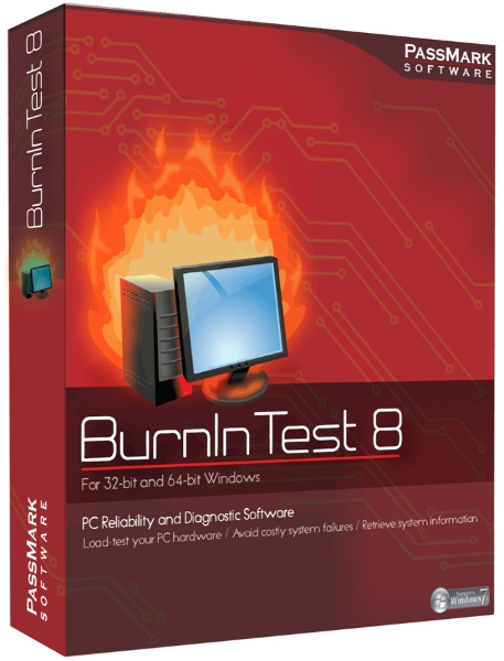 PassMark BurnInTest Pro 9.0 Build 1016 Final + ключ (2019) ENG