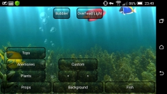Aquarium Live Wallpaper 3.5 - живой аквариум с рыбками для android