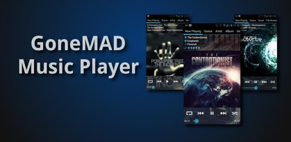 GoneMAD Music Player 2.0.2 [Русская версия]