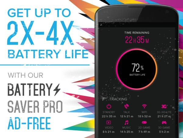 Battery Saver Pro 2.1.8 [На русском]