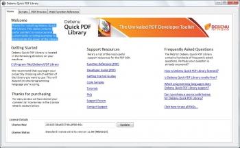 Debenu Quick PDF Library 11.15.1 (2015) ENG/Key - для конвертирования изображений в PDF