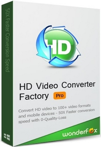 WonderFox HD Video Converter Factory Pro 15.0.0 + keygen (2018) ENG