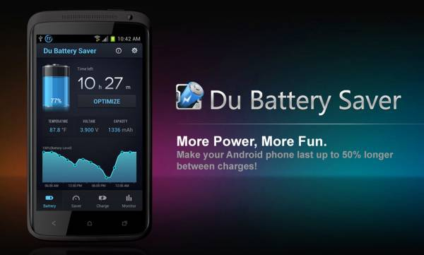 DU Battery Saver. Battery Charger & Battery Life 4.8.0.5  Patched [На русском]