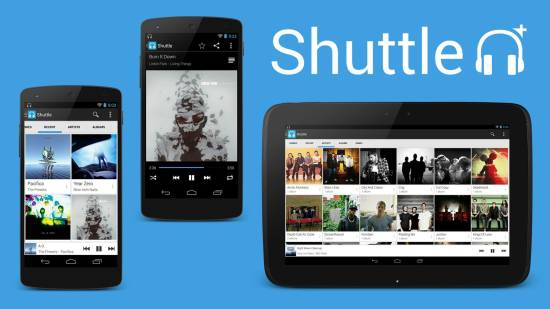 Shuttle+ Music Player 1.5.11 [На русском]