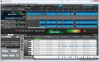 Acoustica Mixcraft Pro Studio 8.1 Build 418 Final + keygen [На русском]