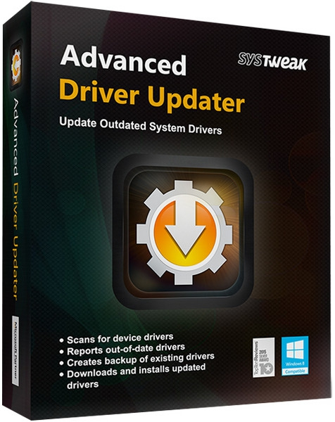 SysTweak Advanced Driver Updater 4.5.1086.17605 + crack [На русском]