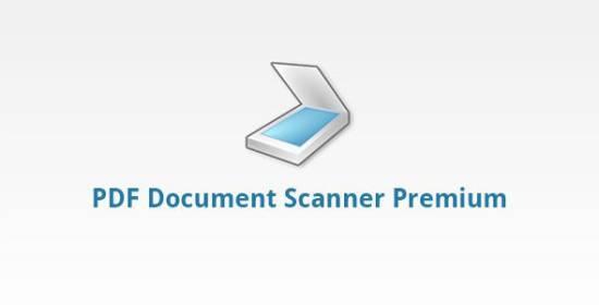 PDF Document Scanner Premium 3.0.4 (мобильный сканер для андроид)