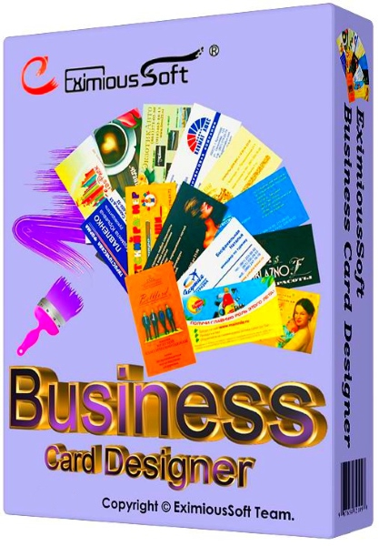 EximiousSoft Business Card Designer 5.02 Portable (2015) ENG