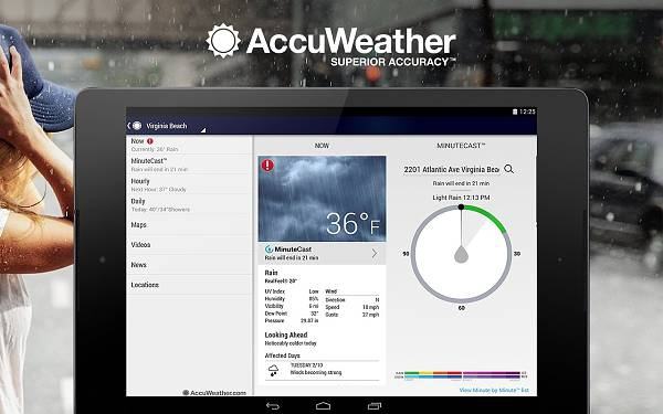 AccuWeather Platinum 3.4.2.12 Paid [На русском]