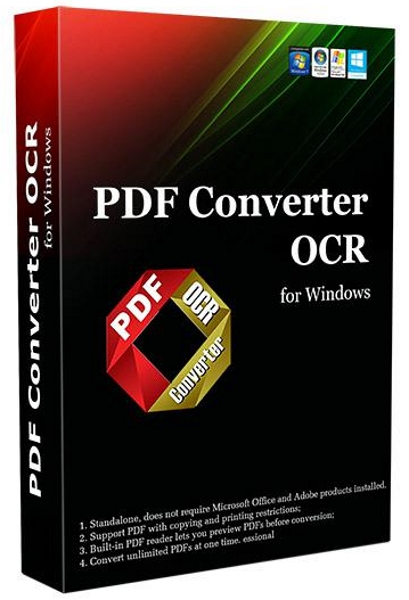 Lighten PDF Converter OCR 6.1.1 + keygen (2018) ENG