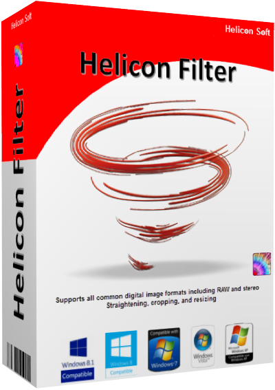 HeliconSoft Helicon Filter 5.6.3.3 + loader [На русском]