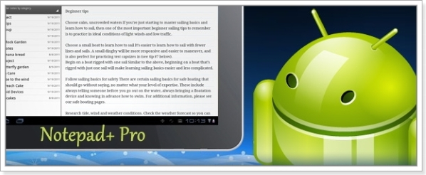 Notepad+ Pro (Блокнот+) 2.4 build 16 [На русском]