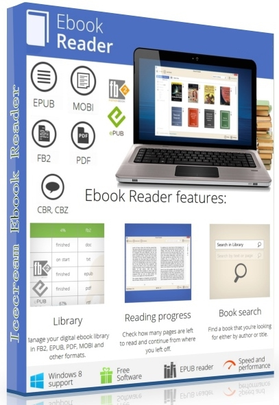 Icecream Ebook Reader Pro 5.21 + patch На русском]