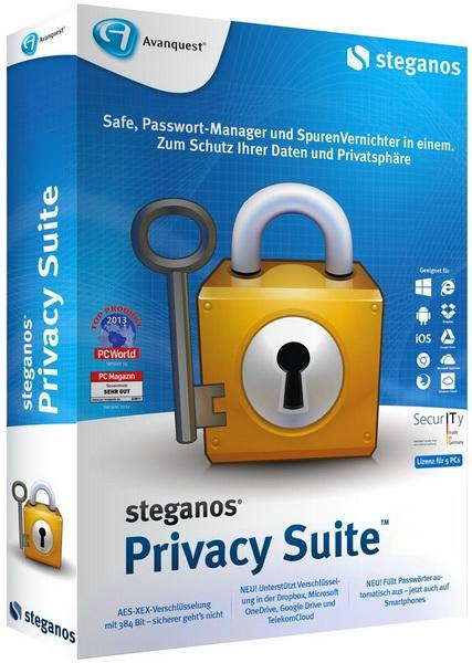 Steganos Privacy Suite 20.0.6 Rev 12432 + keygen (2018) ENG