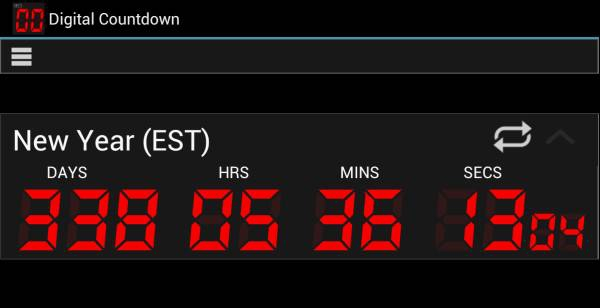 Final Countdown Day Timer 4.09 [На русском]