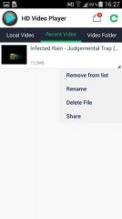 HD Video Player 1.8.0 без рекламы