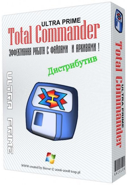 Total Commander Ultima Prime 7.4 Final / 9.21a Final + ключ [На русском]