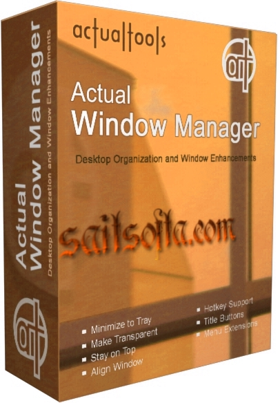 Actual Window Manager 8.13 Final + keygen [На русском]