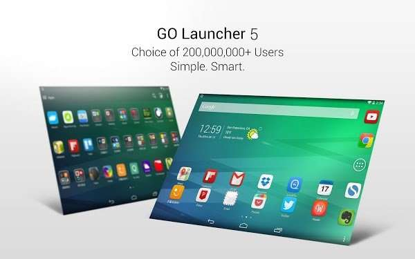 GO Launcher Z - Prime VIP 2.20 Build 550 Theme / Wallpaper [На русском]