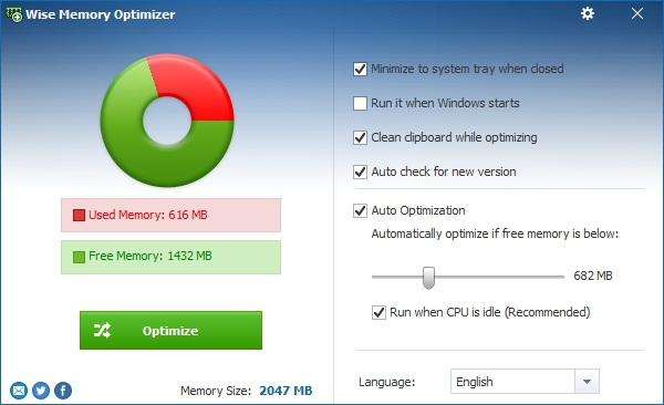 Wise Memory Optimizer 3.63.107 + Portable [На русском]