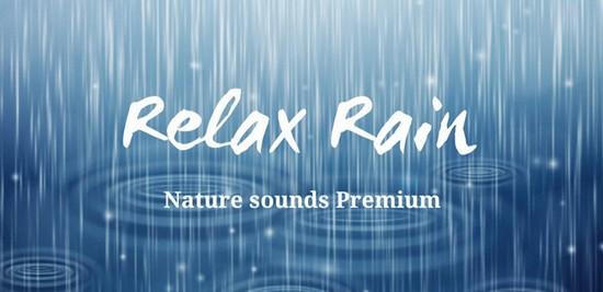 Relax Rain Nature Sounds Premium 4.0.4 [На русском]