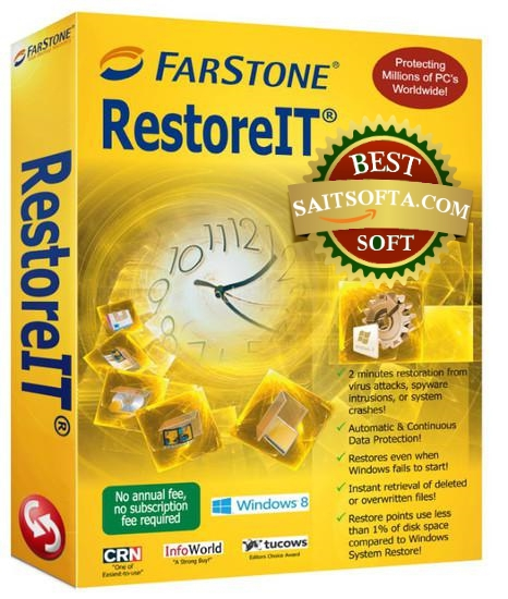 FarStone RestoreIT 10 Build 20151116 + keygen (2016) ENG