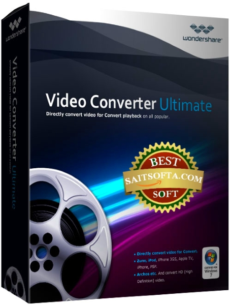 Wondershare Video Converter Ultimate 10.4.2.194 + patch [Русификатор]